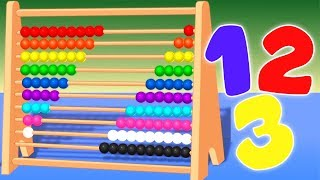Abacus | Learn To Count | Learning Videos For Children by Kids Baby Club