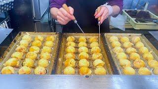 japanese street food - making TAKOYAKI