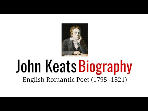John Keats, Biography in Hindi Works and achievements