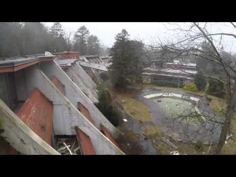 Penn hills honeymoon resort abandoned drone