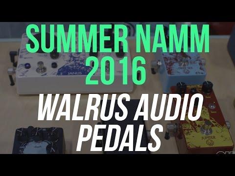 Walrus Audio Harmonic Tap Tremolo and 385 Overdrive