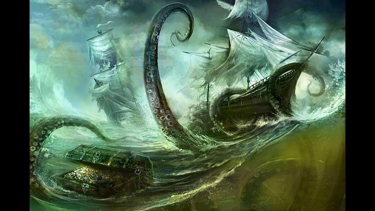 Kraken Mystery Solved? Paleontologist Posits Real-Life Scenario for Mythical Monster - YouTube