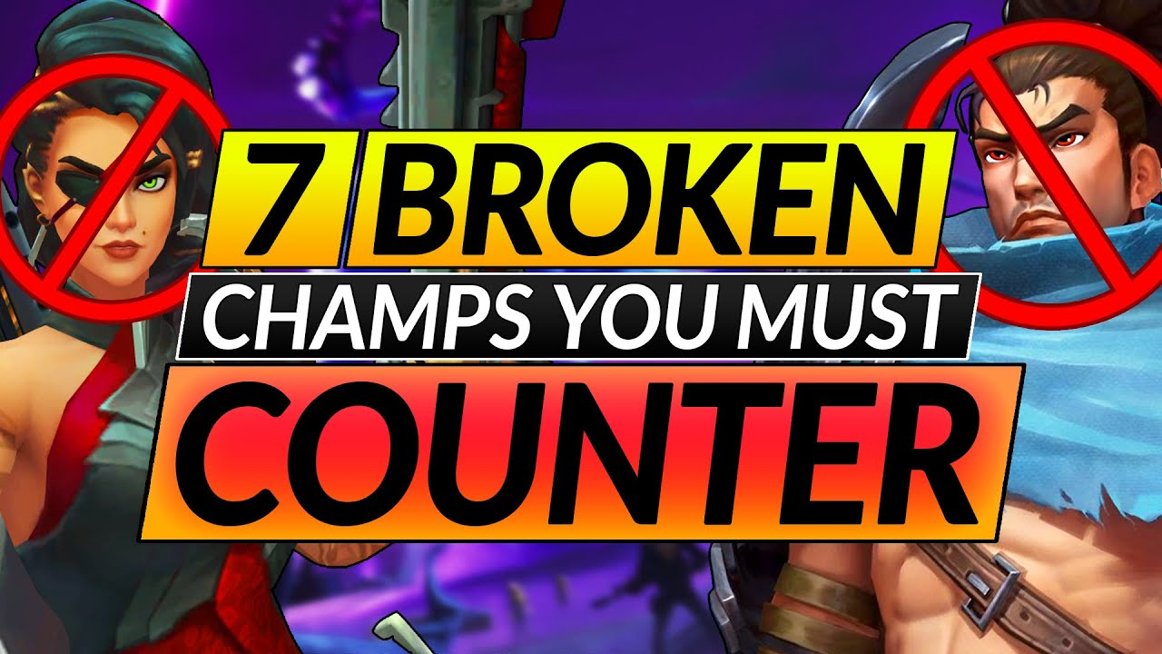 Download 7 MOST ANNOYING CHAMPIONS - How to Counter The Highest Banrate Picks - LoL Guide