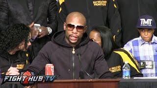 Floyd Mayweather vs. Marcos Maidana 2 : Post fight press conference video Full - Uncut -