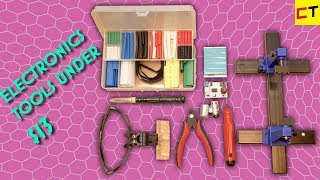 9 Useful Electronics Tools Under $13