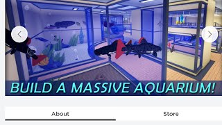 ROBLOX SeaLife Tycoon (Showing The Aquarium)