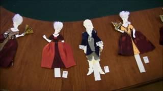 Человек и время. Костюм XVIII века (урок изобразительного искусства в музее М.В. Ломоносова