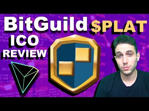 Is Tron TRX Partner BitGuild set to dominate decentralized gaming? $PLAT ICO Review!