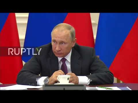 Download Youtube: Russia: Any problems? - Putin calls out Deputy Finance Minister Ivanov on ruble tariff transition