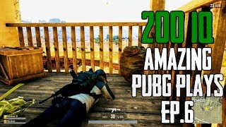 200IQ Amazing PUBG PLAYS  EP 6 - Playerunknown's Battlegrounds Highlights thumbnail