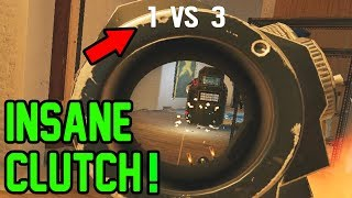 Insane Clutch! - Rainbow Six Siege Gameplay