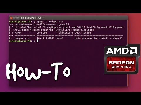 How To Install AMDGPU-PRO On Ubuntu 16.04 (Guide)