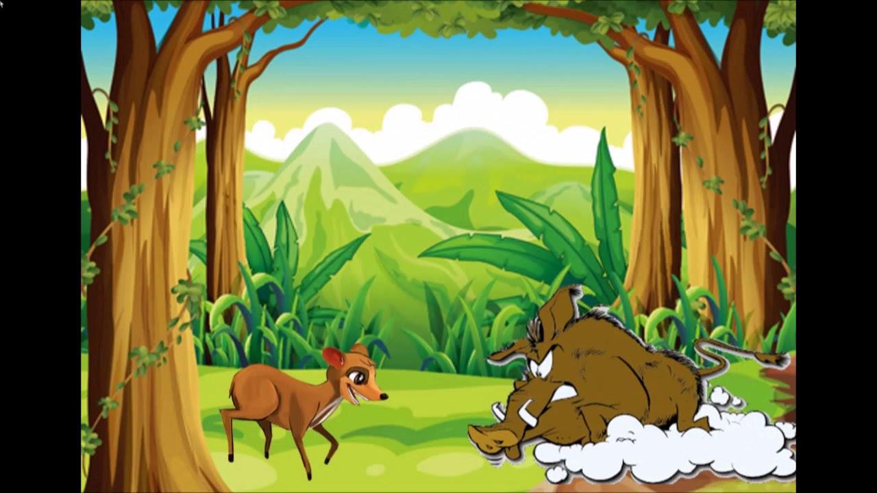 Si Kancil Dan Raja Babi Hutan