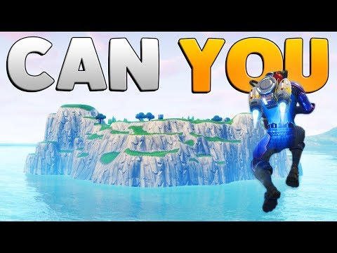 CAN YOU JETPACK TO THE SPAWN ISLAND | Fortnite: Mythbusters