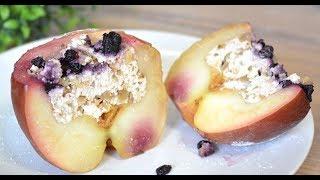 Быстрый и Полезный Десерт / Запечённые Яблоки с Творогом
