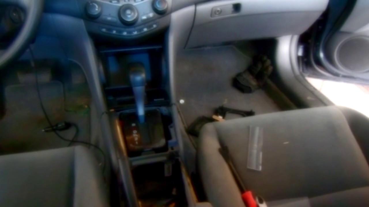Honda Accord: Parking Brake