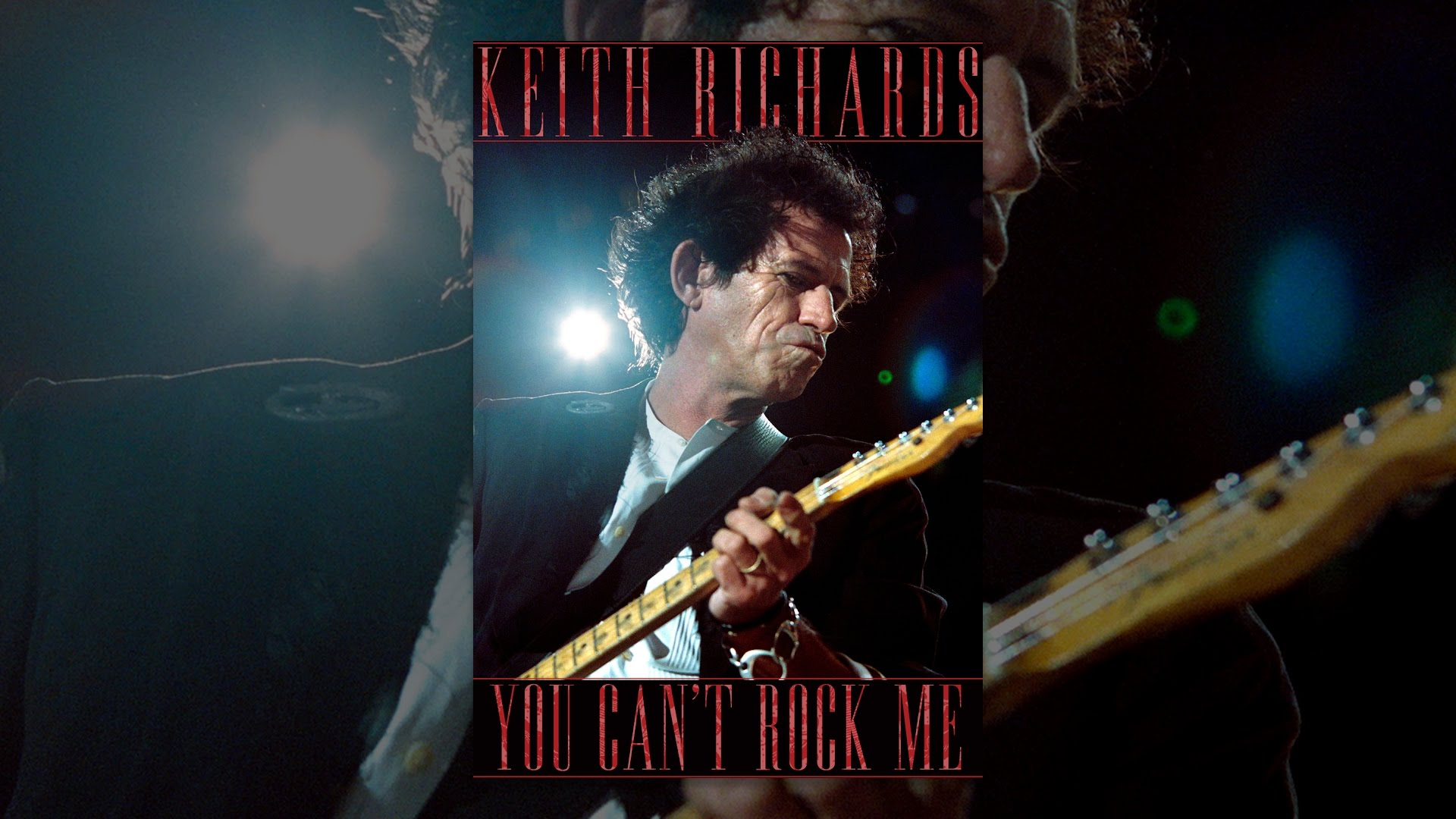 Keith Richards: You Can't Rock Me