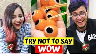 TRY Not to say WOW challenge ft. Triggered Insaan *HARD*