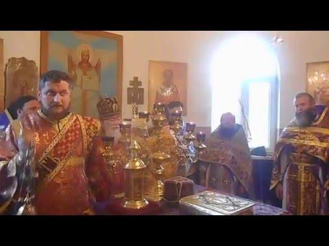 Храмовий праздник в селі Угля - Груники. 22.03.2016.
