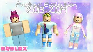 Mi evolución de avatar de ROBLOX (2013-2019) Roblox