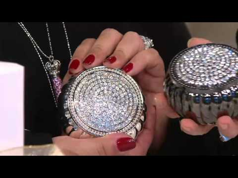Silver & Gold Safekeeper Dome Jewelry Box by Lori Greiner on QVC