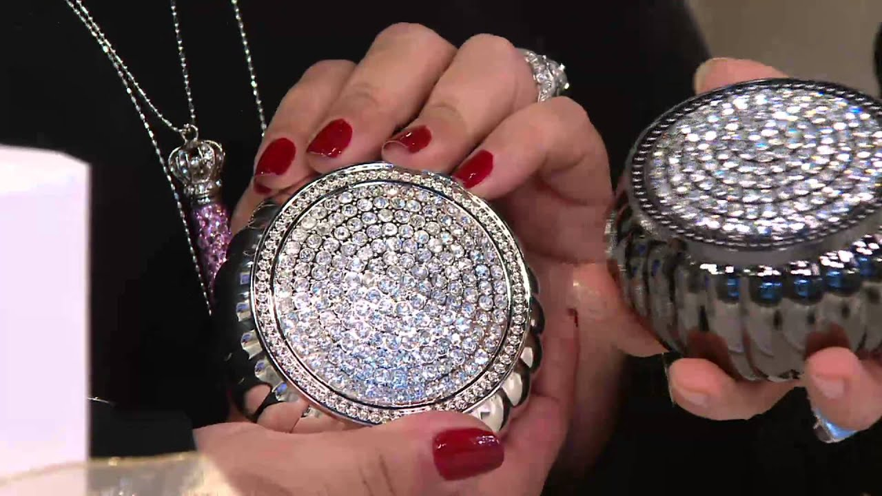 Lori greiner jewelry box bed bath and beyond - Silver Gold Safekeeper Dome Jewelry Box By Lori Greiner On Qvc Youtube