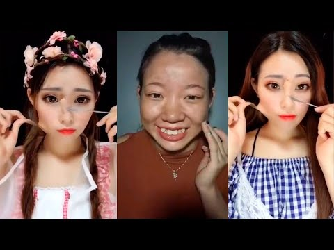 Amazing Power of Makeup Asian Transformations  😱 Asian Makeup - Power of Makeup transformations