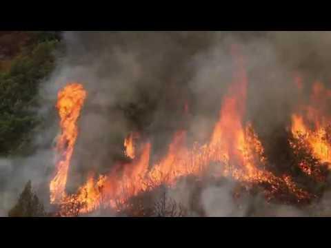416 Fire burnout