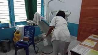 Pembuatan desinfektan klinik carolus bengkulu