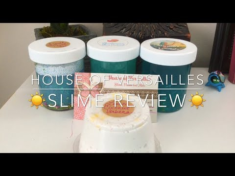 ☀️House Of Versailles Slime Review☀️