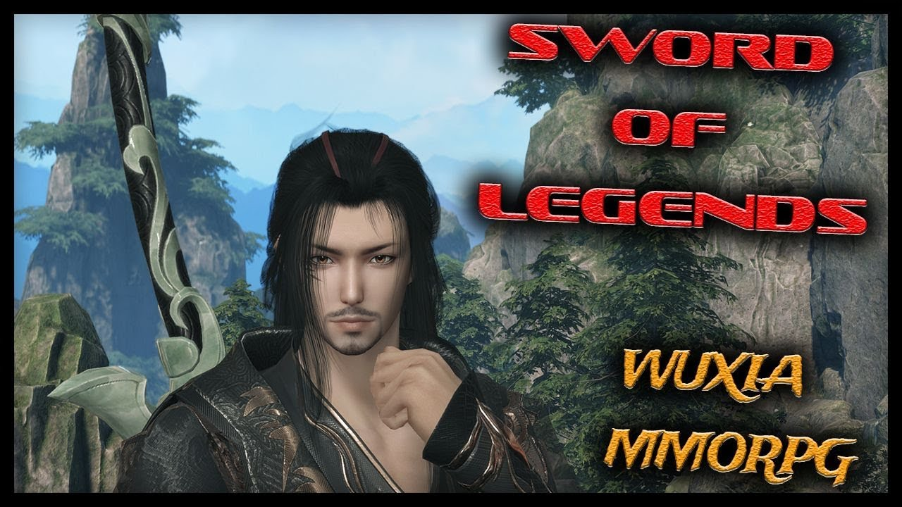 🌺SWORD OF LEGENDS Open Beta in China Begins Today! (Wuxia MMORPG) Gameplay  Part 1
