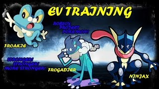 FROAKIE EV/IV TRAINING ROBLOX: PROJECT POKEMON