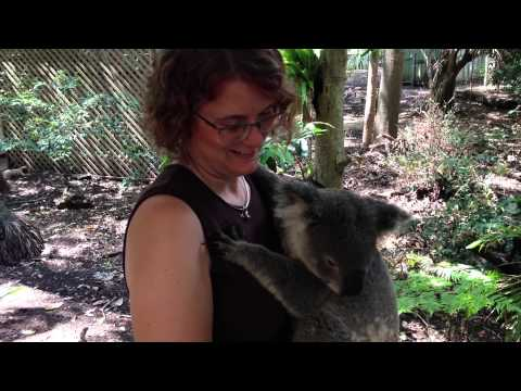 Jimmy And Christine Moore At Lone Pine Koala Park