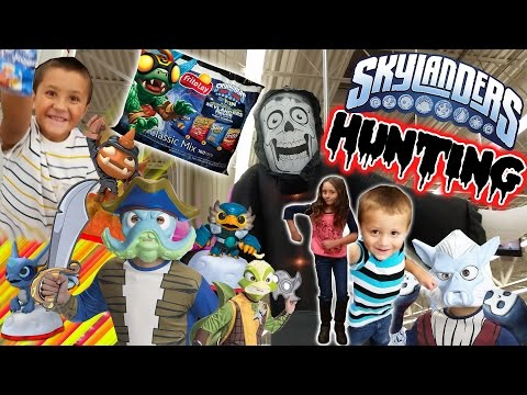 Skylanders Hunting: Sky Mom The Rapper / Halloween / Trap Team Goodies / High Five Frito Lay