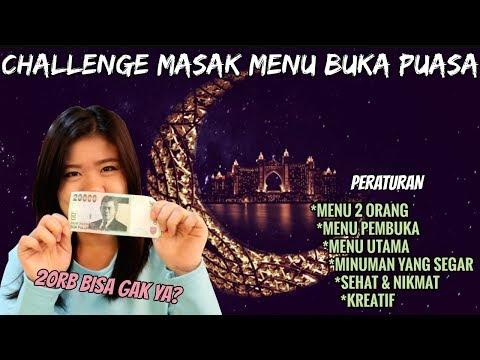 CHALLENGE MASAK MENU BUKA PUASA BUDGET 2ORB