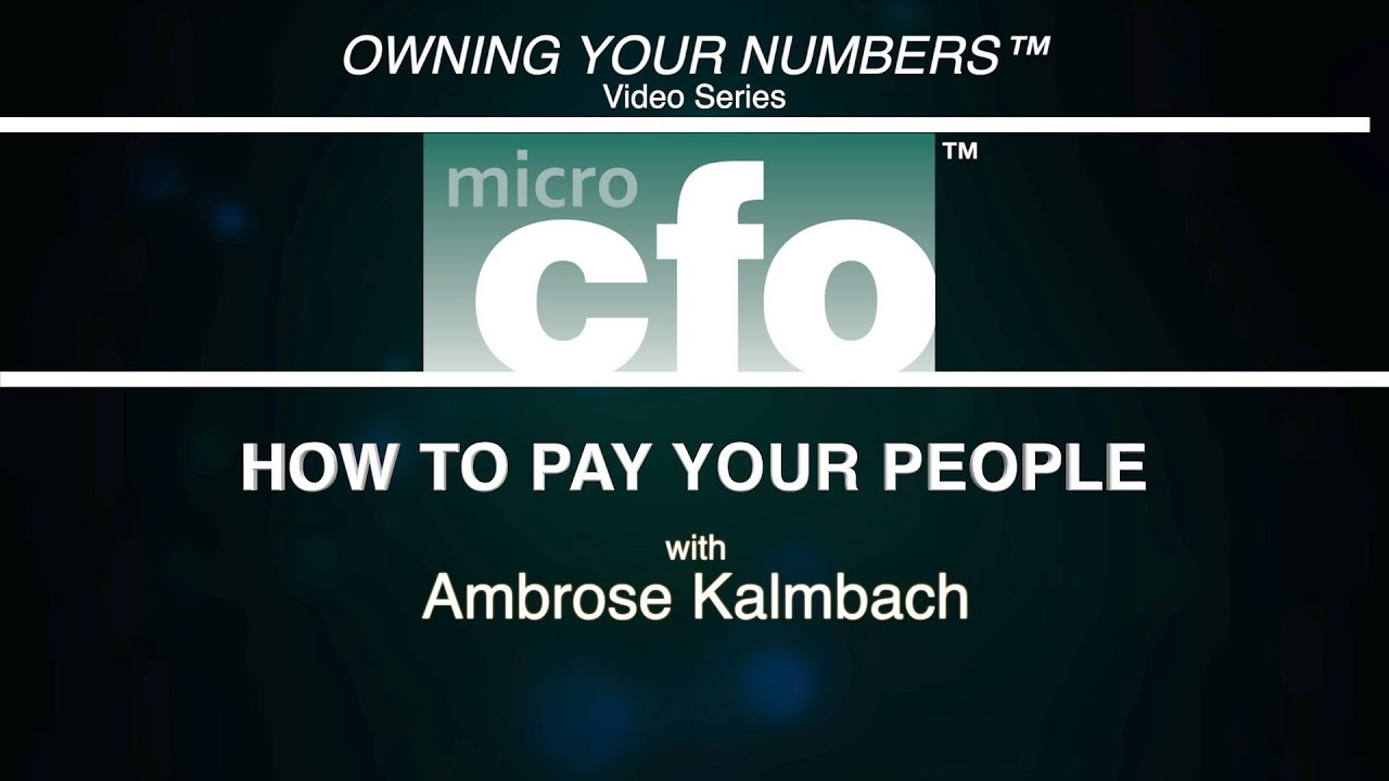 How to Pay Your People