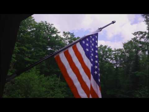 Homesteading - Flag Pole Installation