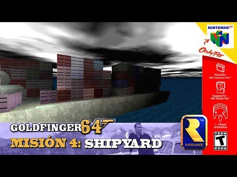 Goldfinger 64 - Shipyard: 00 Agent - Tutorial