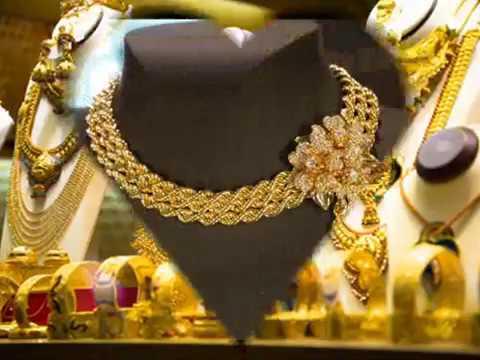 Breathtaking Dubai Gold Jewellery 2017