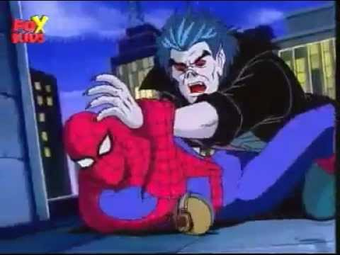 Spider-Man - The Animated Series - Episode 22 - Blade The Vampire Hunter - Part 1