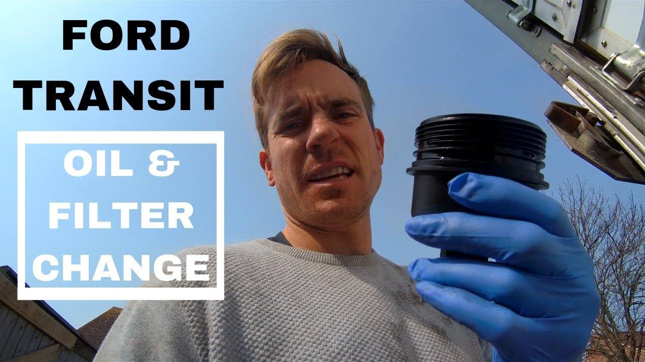 Ford Transit Mk 7 Oil Filter Change Youtube