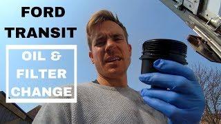 FORD TRANSIT mk 7 OIL & FILTER Change