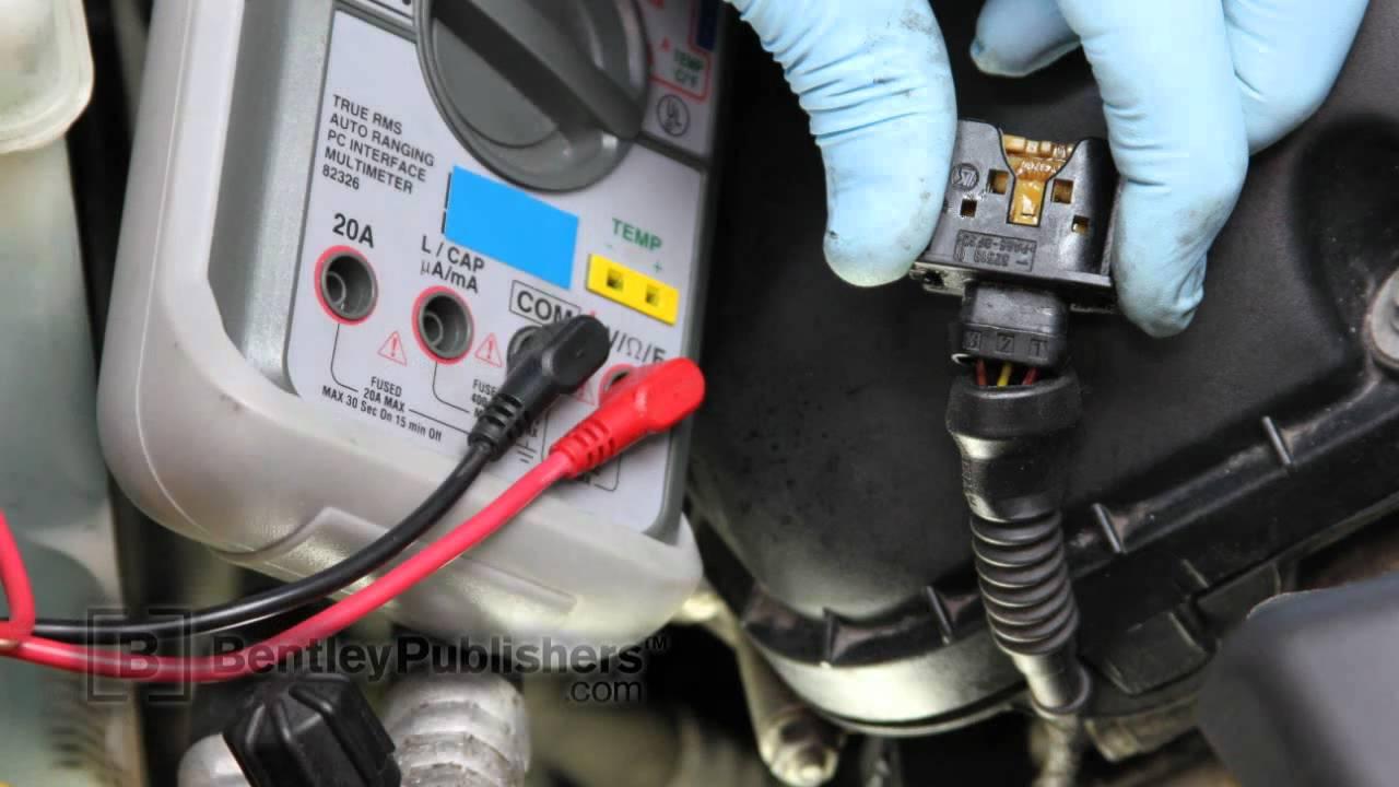 medium resolution of bmw 3 series e46 1999 2005 exhaust camshaft position sensor testing p0369 diy repair youtube
