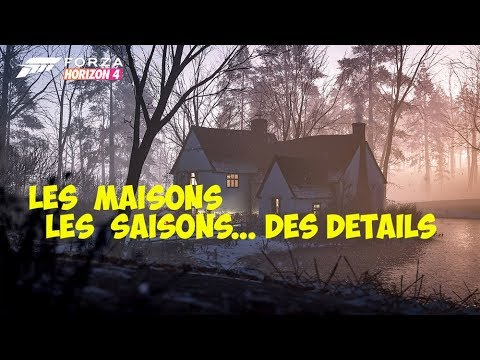 Forza Horizon 4 Maisons, Saisons et Crazy Taxi