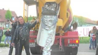 Polterabend Betonmischer LKW