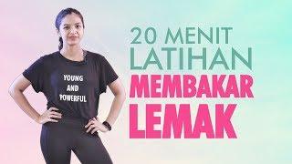 20 Menit Latihan Membakar Lemak Setelah Melahirkan Pospartum Workout Youtube