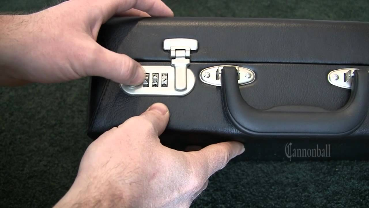 How To Open A 3 Dial Combination Lock Case In 6 Minutes Or