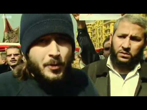 BBC News - Mass protests in Cairo to force President Mubarak from power