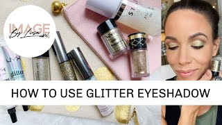 How to use glitter eyeshadow