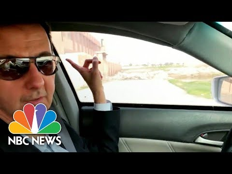 Assad Gives Video Driving Tour Of Territory Captured From Syria's Rebels | NBC News